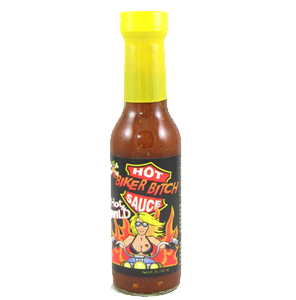 Tahiti Joe's Biker Bitch Hot and Wild Hot Sauce