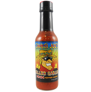 Tahiti Joe's Killer Garlic Hot Sauce