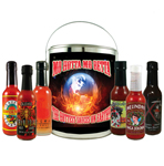 Hottest Sauces on Earth Gift Bucket