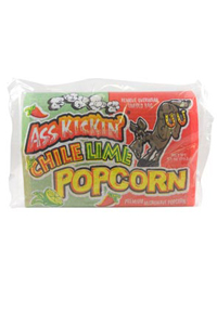 Ass Kickin' Chili Lime Microwave Popcorn