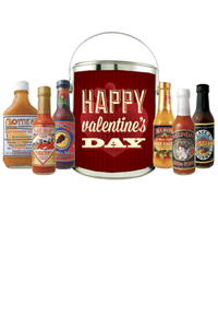 Happy Valentine's Day Gift Bucket