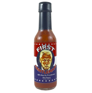 First Gentleman Bill's Not-So Presidential Hot Sauce