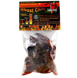 Dried Ghost Chile Peppers