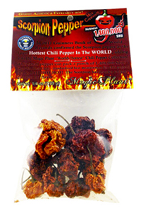 Dried Scorpion Chile Peppers