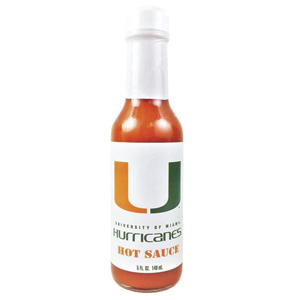Miami Hurricanes Hot Sauce