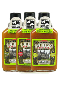 African Rhino Peri Peri Sauce Bundle