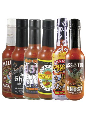 Naga Jolokia Ghost Sauce Bundle