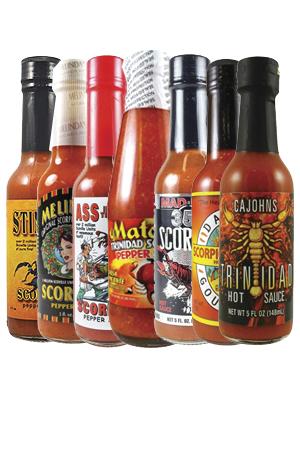 Scorpion Hot Sauce Bundle