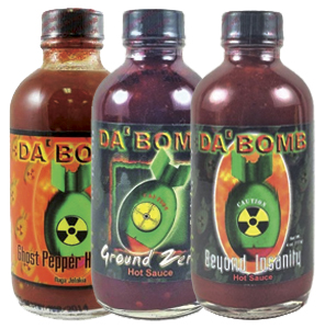 Da' Bomb Hot Sauce Bundle