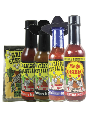Arizona Gunslinger Hot Sauce Gift Bundle