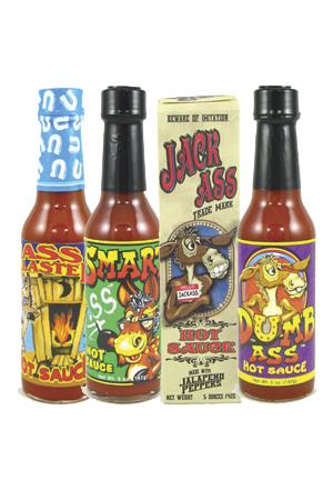 Ass Hot Sauce Bundle