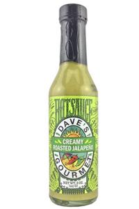 Dave's Gourmet Creamy Roasted Jalapeno Hot Sauce