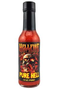 Hellfire Pure Hell Hot Sauce
