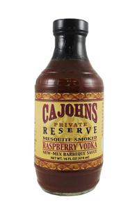 CaJohn's Mesquite Smoked Raspberry Vodka New-Mex Barbeque Sauce