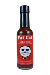 Fat Cat Cat in Heat: Chipotle Ghost Pepper Hot Sauce