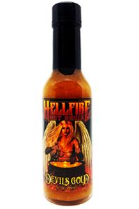 Hellfire Devil's Gold Hot Sauce