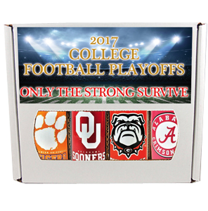 2017 College Football Playoffs Four Pack