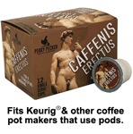 Perky Pecker Coffee Co. Caffenis Erectus Coffee Pods