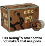 Perky Pecker Coffee Co. Kick in the Hazelnuts Coffee Pods