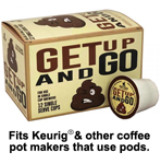Perky Pecker Coffee Co. Get Up and Go Coffee Pods