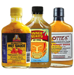 Yellow Belly Hot Sauce Sampler