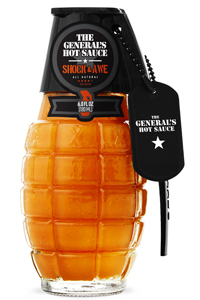 General's Shock & Awe Grenade Hot Sauce