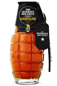 General's Danger Close Grenade Hot Sauce
