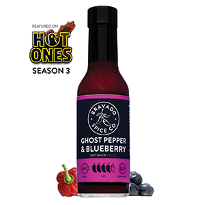Bravado Spice Co. Ghost Pepper & Blueberry Sauce