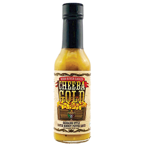 High River Sauces Cheeba Gold Barbados Style Scotch Bonnet Pepper
