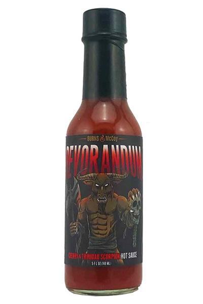 Burns & McCoy Devorandum Cherry & Trinadad Scorpion Hot Sauce
