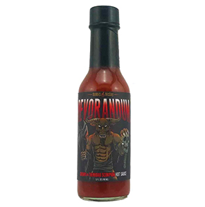 Burns & McCoy Devorandum Cherry & Trinadad Scorpion Hot Sauce