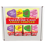 Valentine's Day Four Sauce Sampler