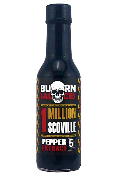 Burn Sauces 1M Scoville Pepper Extract