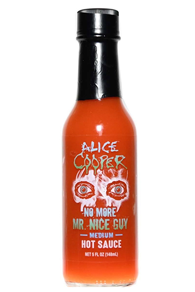 Alice Cooper No More Mr. Nice Guy Medium Hot Sauce