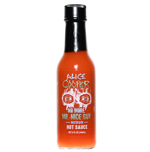 Alice Cooper No More Mr. Nice Guy Medium Hot Sauce