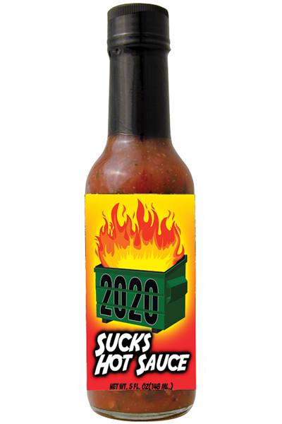2020 Sucks Hot Sauce