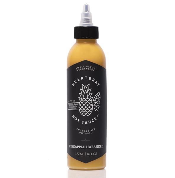 Heartbeat Pineapple Habanero Hot Sauce