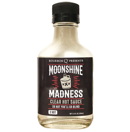 Moonshine Madness Clear Hot Sauce