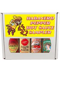 Habanero Four Pack Gift Set