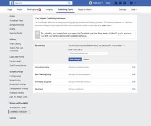 فيسبوك تواصل حربها على الأخبار الوهمية عبر مؤشرات الثقة