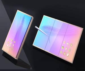 شائعات عن إطلاق هاتف سامسونج جالكسي X القابل للطي في 2018