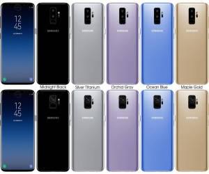 صورة رسمية مسربة تكشف لنا عن تصميم وألوان الهاتفين Galaxy...