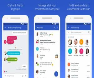 تحديث تطبيق أندرويد للرسائل يدعم الآن Duo وميزات أكثر