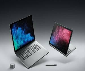 الحاسب المحمول الهجين Surface Book 2 متاح الآن للشراء بسع...