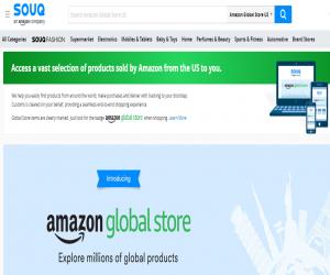 منتجات أمازون الأمريكية متاحة في سوق.كوم