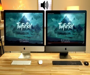مقارنة مكبرات الصوت وكاميرا FaceTime بين حاسب iMac Pro و5...