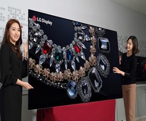 """""""إل جي"""" تستعرض أكبر شاشة 8K في العالم بحجم 88..."""