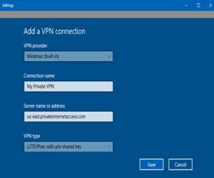 كيفية إعداد الـ VPN في نظام ويندوز 10