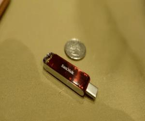 SanDisk تعرض أصغر ذاكرة فلاشية USB-C سعة 1 تيرابايت في #C...