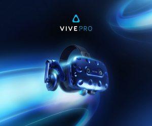 HTC Vive تُطلق جهاز Vive Pro و محول Vive Wireless